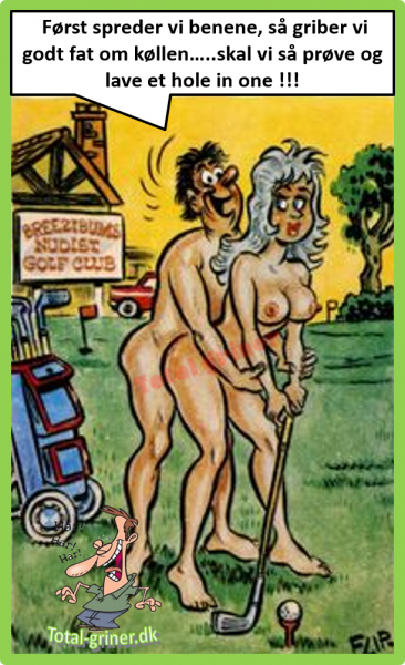 Nudist Golf